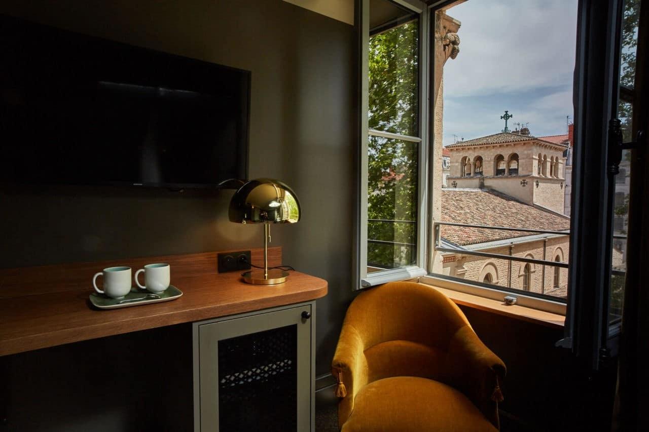 Ambiance cosy Hôtel à Lyon - Abbaye d'Ainay