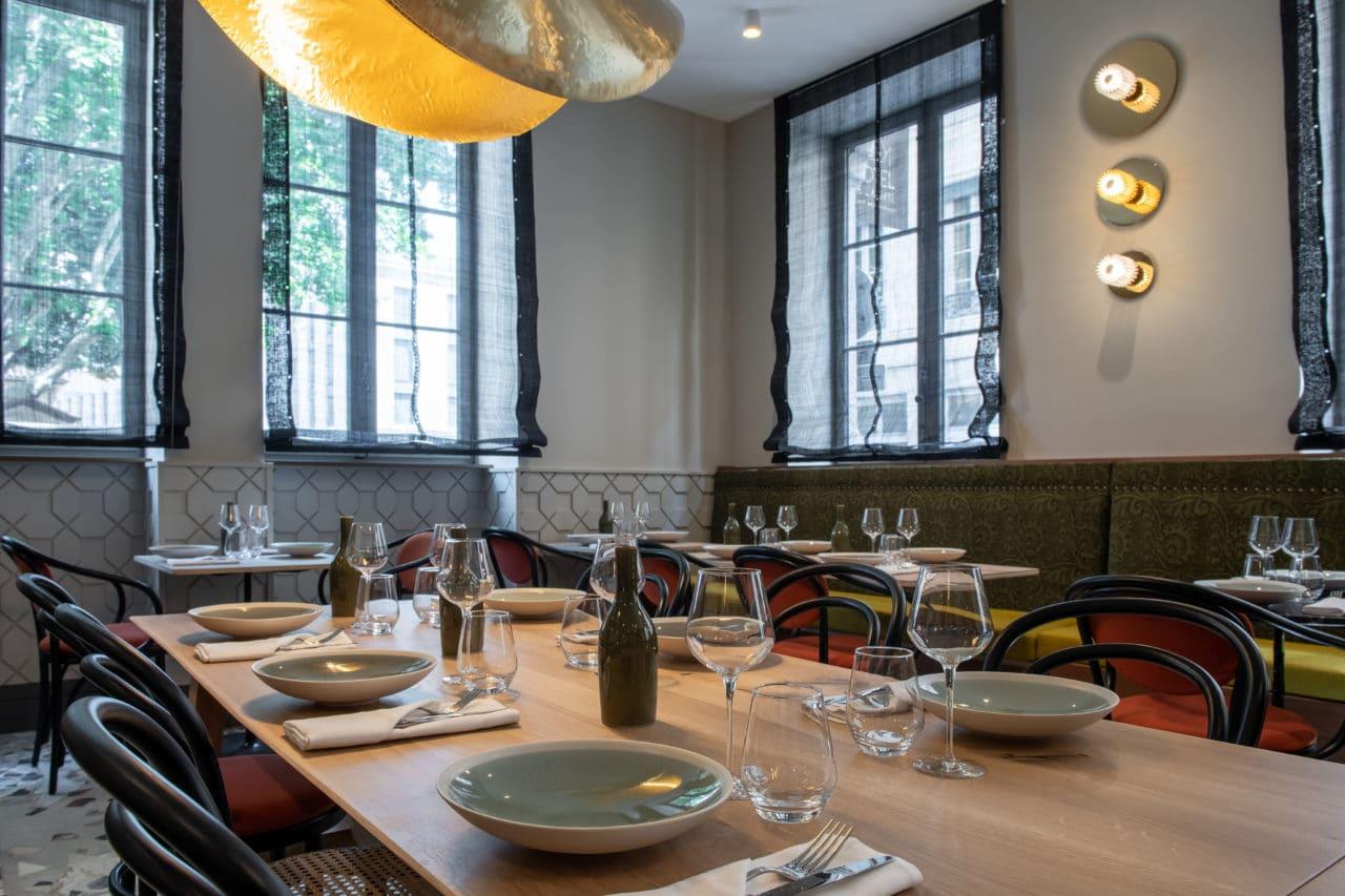 Restaurant l'Artichaut bistronomie - hotel de l'abbaye ainay lyon
